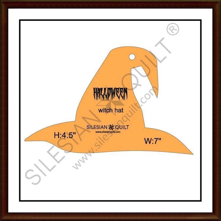 Halloween Witch Hat applique