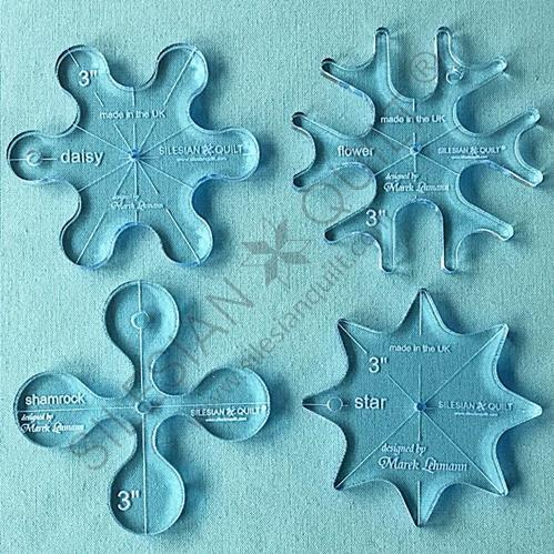 Set 3 inches templates